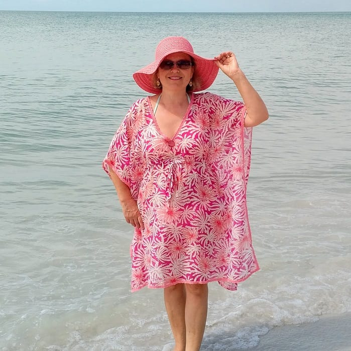 beach dress DIY sewing tutorial