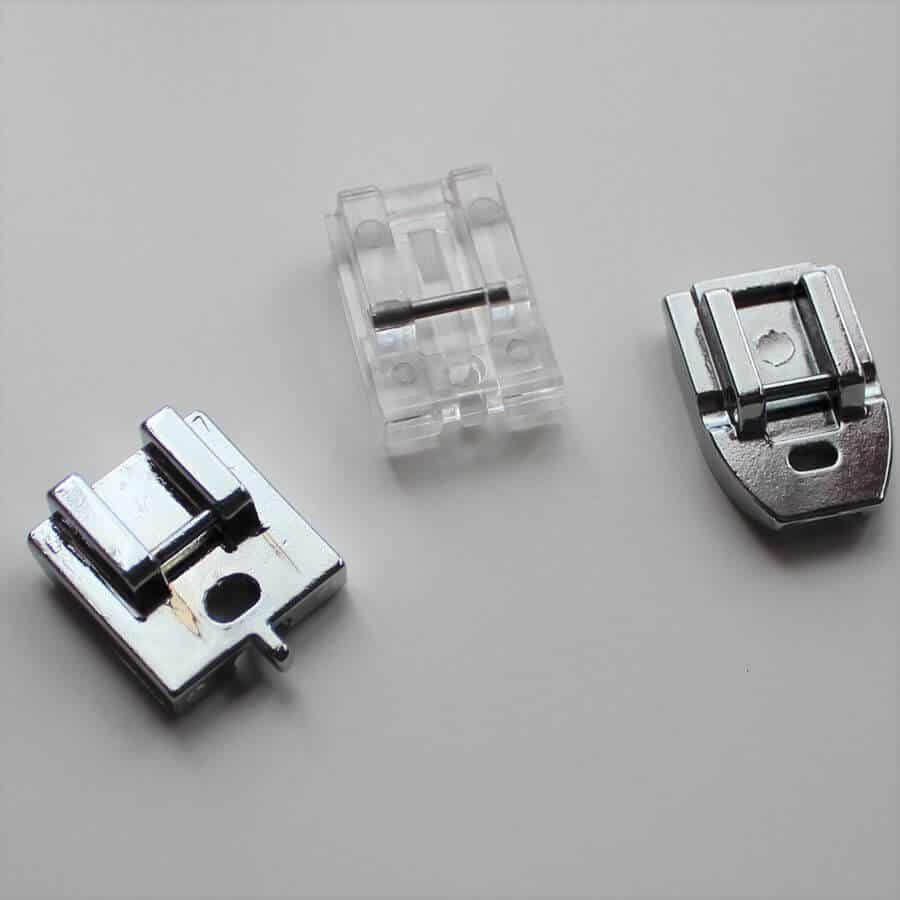 invisivle zipper feet for a sewing machine