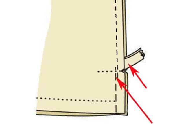 Sewing an invisible zipper without puckering