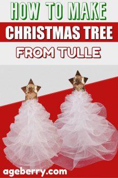tulle christmas tree