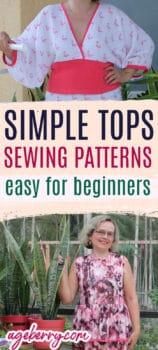 simple top sewing pattern