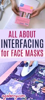 interfacing for masks