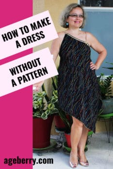 how to make a dress without a pattern sewing tutorial