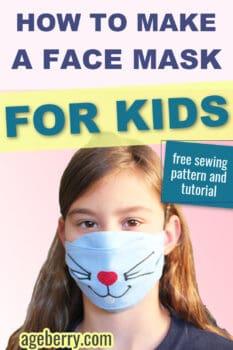 DIY kids mask