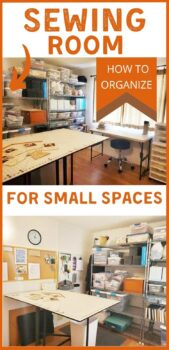 Sewing room ideas for small spaces