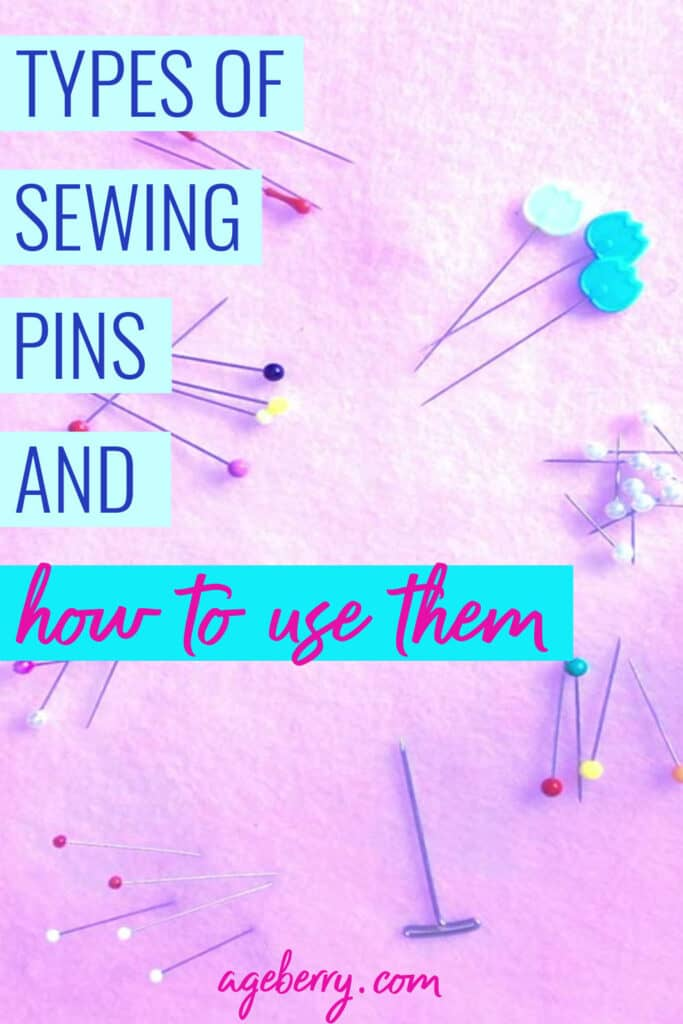 Types of sewing pins